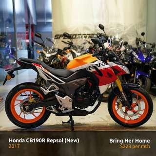 Honda CB190R Repsol 2017 (New)