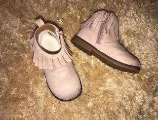 H&M baby girl boots size EUR24