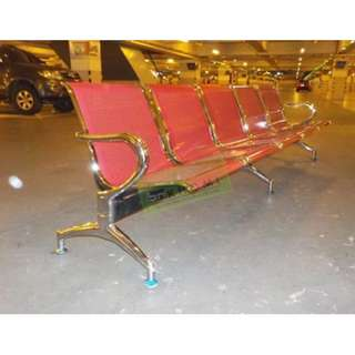 MAROON 5 SEATER GANG CHAIRS  AIRPORT CHAIRS--KHOMI