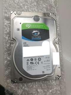 Seagate Skyhawk 6tb hard disk drive