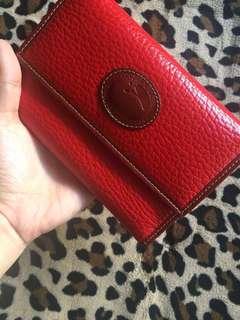 ORIGINAL Dooney & Bourke red wallet REPRICED!!!