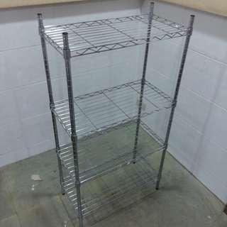 鍍鉻四層架/多功能置物架