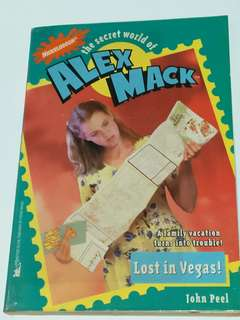 The Secret World of Alex Mack: Lost in Vegas!