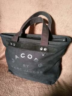 Marc Jacobs black canvass Tote bag
