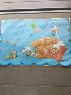 Forever Friend tablemat