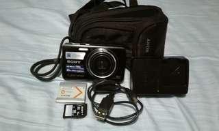 Sony Cyber-shot DSC-W650 16.1 MP - BLACK
