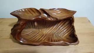 Solid Wood Basket