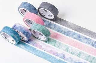 [ po ] set of 6 galaxy washi tapes