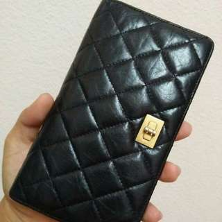 Authentic CHANEL 2.55 Reissue wallet