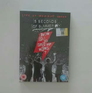 5 Seconds of Summer: How Did We End Up Here DVD