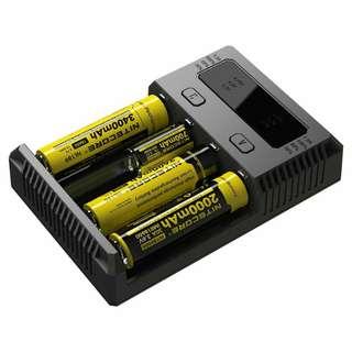 NITECORE New i4 Li-ion battery universal charger