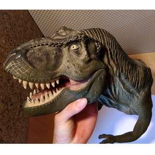 Vintage Jurassic Park Movie Collectible T Rex Hand Puppet