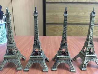 Eiffel Tower Miniature display- 15cm H
