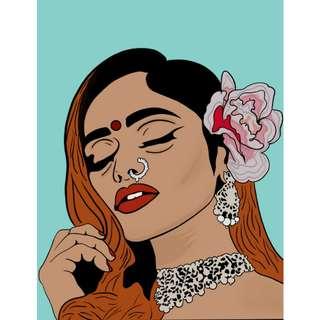 Custom Portrait Illustration /Art Commissions