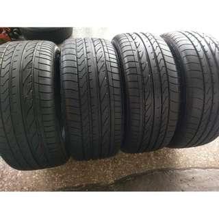 255/55/19&275/50/19 保時捷 全新拆車落地輪胎 普利司通 2017 波蘭製造 DHPS 四條一組價