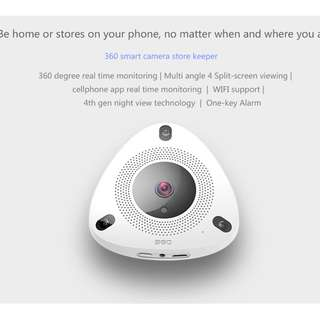 360 Smart Fish Eye Shop/Home Surveillance Wifi Camera