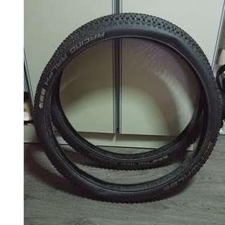 Schwalbe Racing Ralph Evo MTB Tyre SnakeSkin ( 27 inch , 2.25 width , tubeless ready , 2x set )