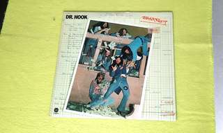 DR. HOOK . bankrupt.  Vinyl record