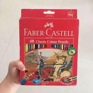 faber castle pensil warna