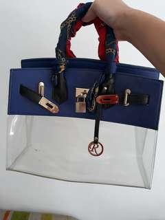 Blur handbag