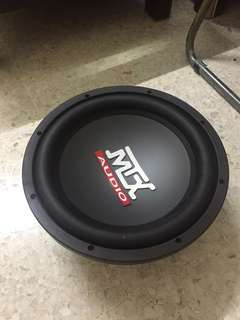USED MTX AUDIO Subwoofer RT12-44