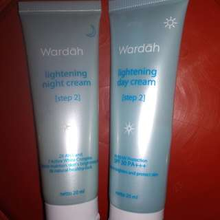Lightning day n night wardah step 2