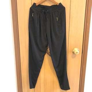 Zara comfy black pants