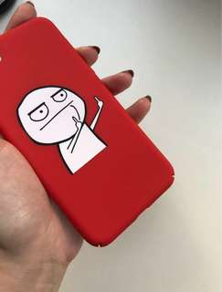 🔥Red Cartoon Meme Hard iPhone Case🔥