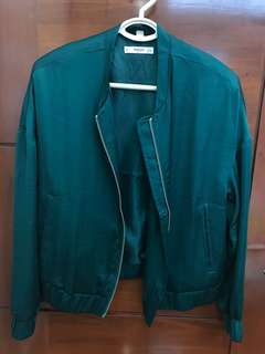 Mango bomber jacket