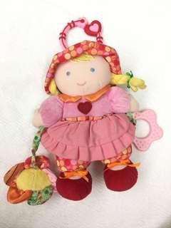 Carter's Rattle Crib Doll