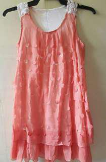REPRICED! Bundle! Orange & Pink Long Sleeveless