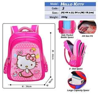 Hello Kitty School Bags