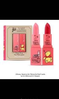 🚚 Disney Happy Honey Mini Matte Lipstick Limited Edition