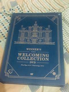 WINNER「WELCOMING COLLECTION」DVD