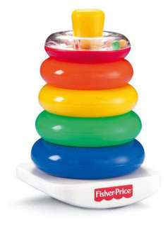 Fisher-Price Rock-a-Stack Rainbow Pyramid [PRE-LOVED]