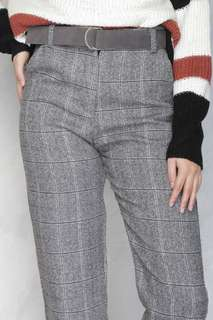 COPPER Back to Business Checked Trousers - Bella