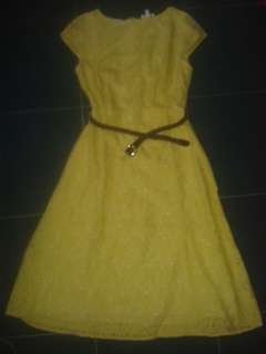 Prelove yellow dress