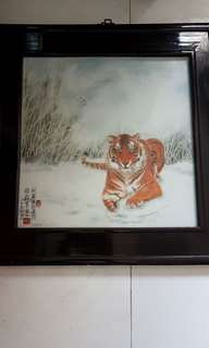 Porcelain TIGER