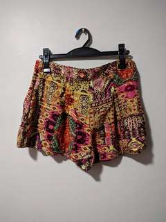 F21 Patterned Shorts
