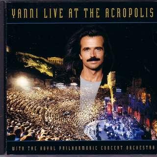 1994年 YANNI LIVE AT THE ACROPOLIS MADE IN FRANCE CD