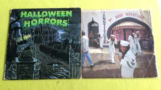 ALICE COOPER . muscle of love ● HALLOWEEN HORRORS . the sound of halloween . ( buy 1 get 1 free )  vinyl record
