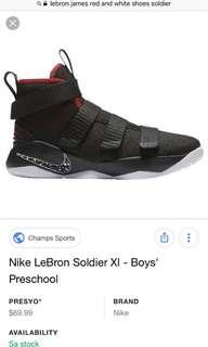 Lebron James Nike Soldier Xl