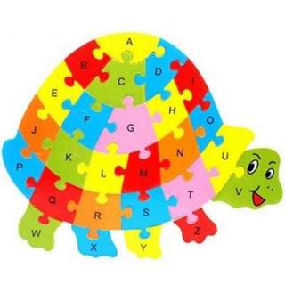 Tortoise Shaped Puzzle