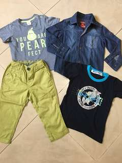 Pants, Denim, Shirt, Longsleeves for Babies/Toddlers (H&M, Grizzly, Snoopy)