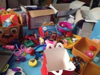 Toys Hoarding!
