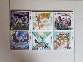 WTS 3DS Games