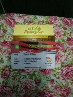Ershali brightening soap