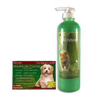 Pro-naturale 3 in 1 Shampoo 500mL (Lime) & MDC soap