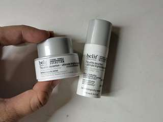 Belif The White Decoction Ultimate Brightening Essence and Cream
