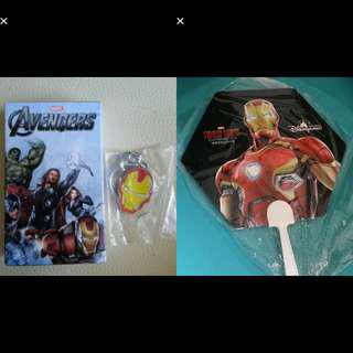 New Ironman Key Chain & Free Fan